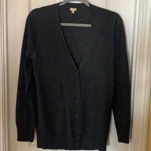 Jcrew button up sweater